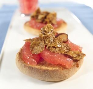 Grapefruit Breakfast Muffin