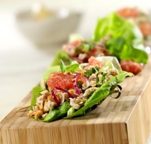 2011 - Asian pork lettuce wraps