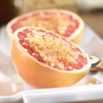 Texas Grapefruit Broiled with Vanilla